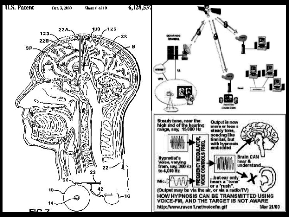 microwave harassment and mind control experimentation